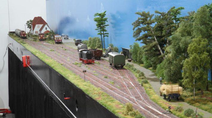 Anlage der Modellbahnfreunde Osterbek Scharmbeck