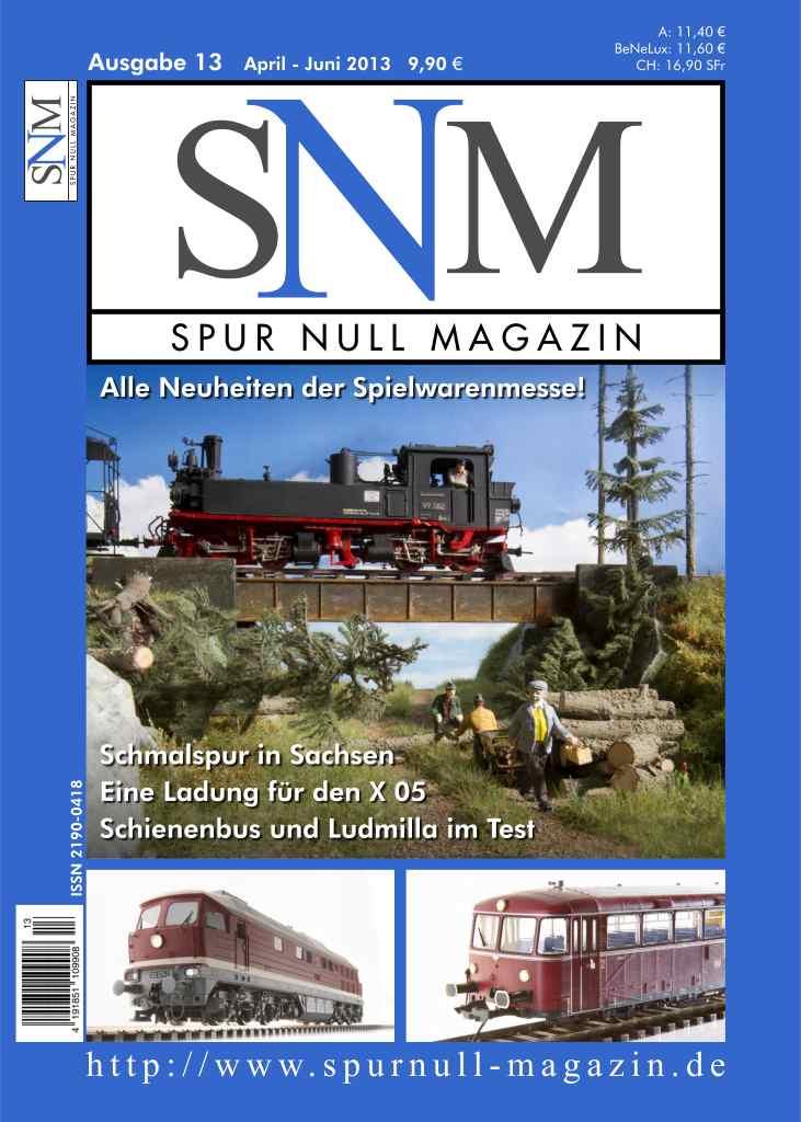 Titel Spur Null Magazin Ausgabe 13