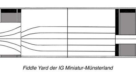Fiddle Yard des Miniatur Münsterland