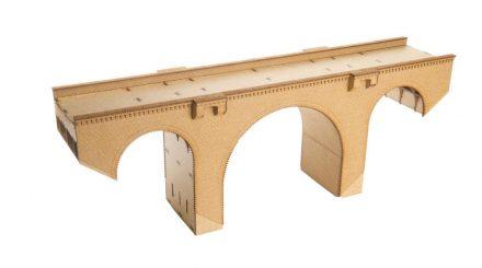 Viadukt in Ziegelbauweise, Maße lassen sich nach Wunsch ändern