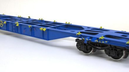 Demko Containertragwagen Sgnss 3-60