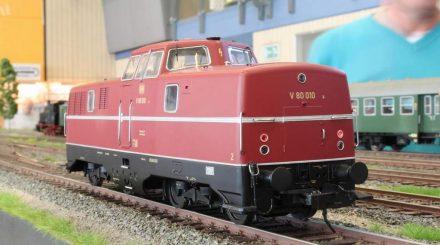 Vorserie der V 80 in Stromberg