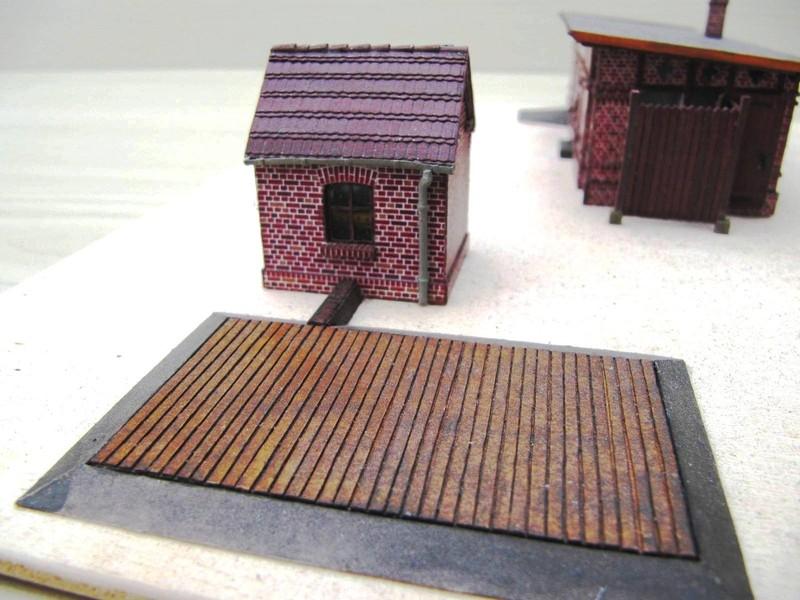 Dallmin Wiegenhaus mit Waagenfläche