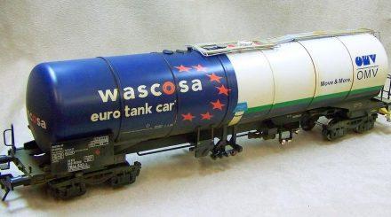 Wascosa Kesselwagen von M.T.H. verschmutzt