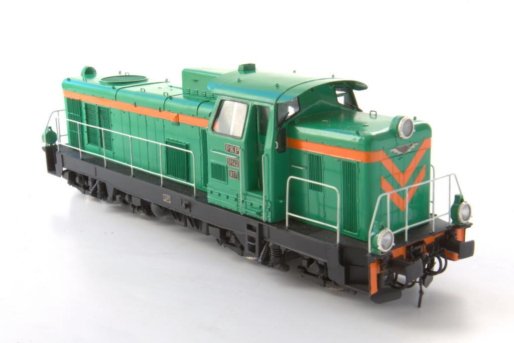 Die SM 42 ähnelt ein wenig der deutschen V100