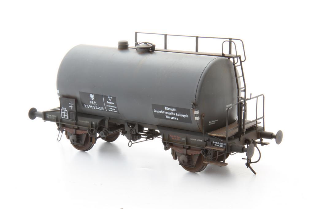 Lenz Kesselwagen mit PKP Beschriftung