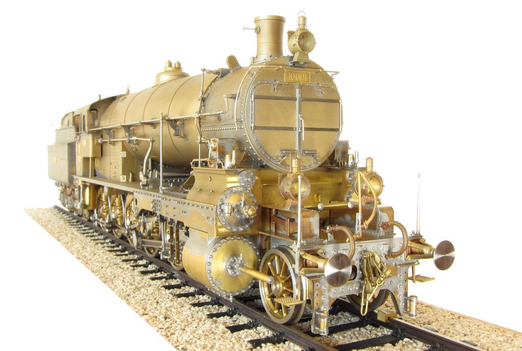 Handarbeitsmodell aus Messing: Die K.k.St.B Baureihe 100 von Stefan Prohaska
