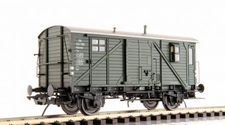 Lenz Güterzugbegleitwagen Pwg Pr 14 ohne Dachaufbau