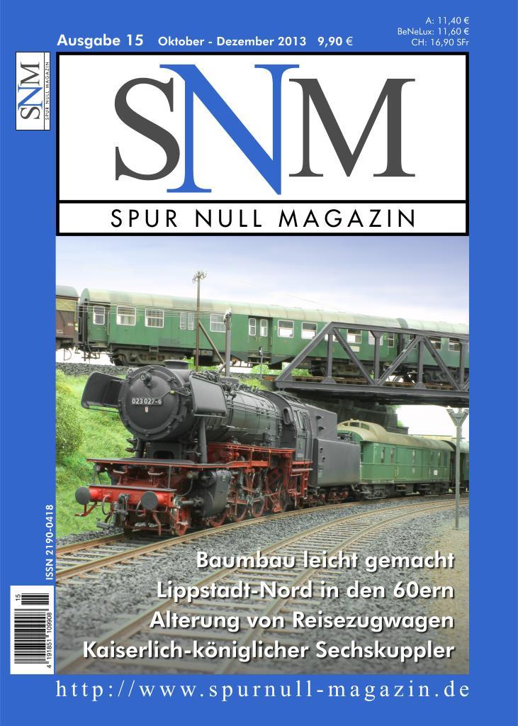 Titelbild SNM Ausgabe 15