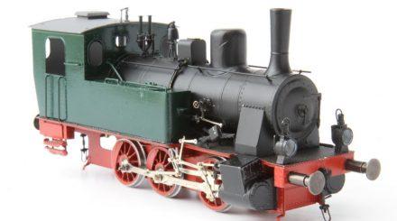 Prototyp der Henschel Dampflok