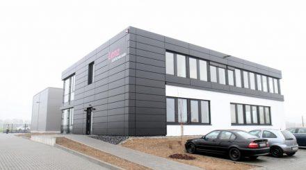 Das neue Lenz Firmengebäude in Gießen