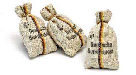 Postsäcke Deutsche Bundespost