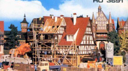 Vollmer: Motiv auf der Schachtel für H0 Gebäude