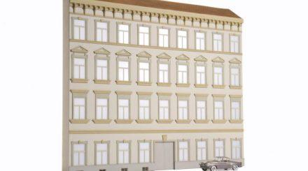 Stadthaus von Bünnig nach einem Wiener Vorbild