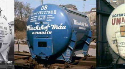 Neue Bierbehälter für den Behältertragwagen BTs 30