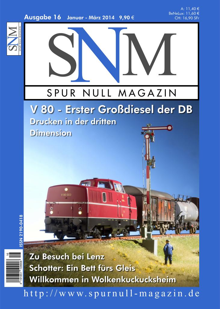 Titelbild SNM Heft 16