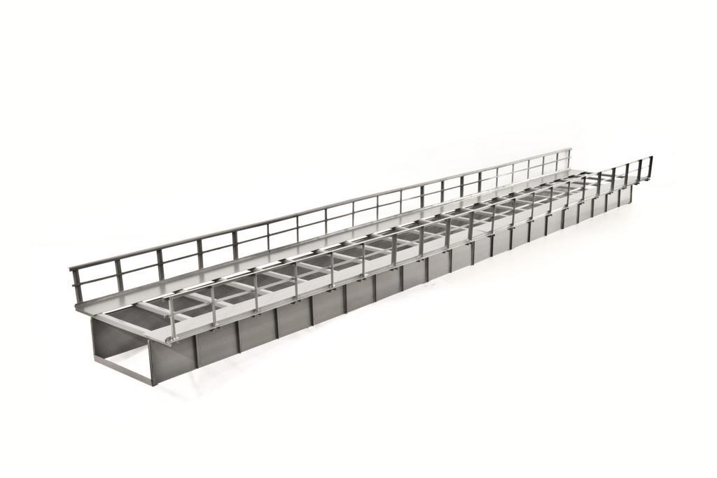 Blechträgerbrücke T072: 72/11,2/6 cm – 82,95 Euro, bereits lieferbar
