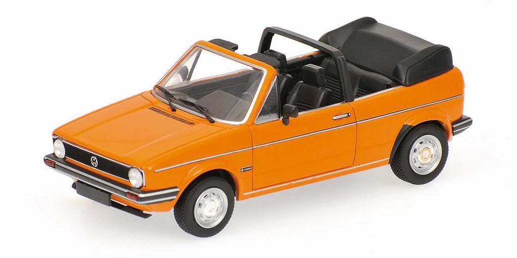 Volkswagen Golf 1 Cabriolet orange