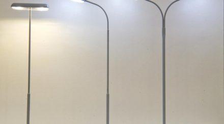 Beli Beco Bahnsteigleuchte (links die Neuheit 2014)