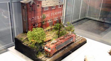 Diorama auf dem NMJ Stand