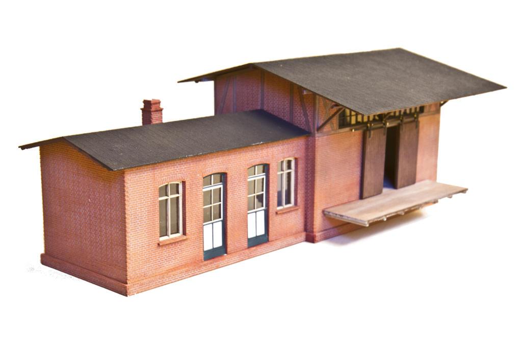 Bahnhofsgebäude Henstedt Kisdorf