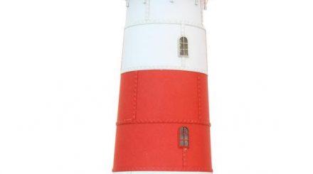 Leuchtturm von Schnellenkamp, von Stangel hergestellt  Schotterverladung, unlackiertes Vorserienmodell