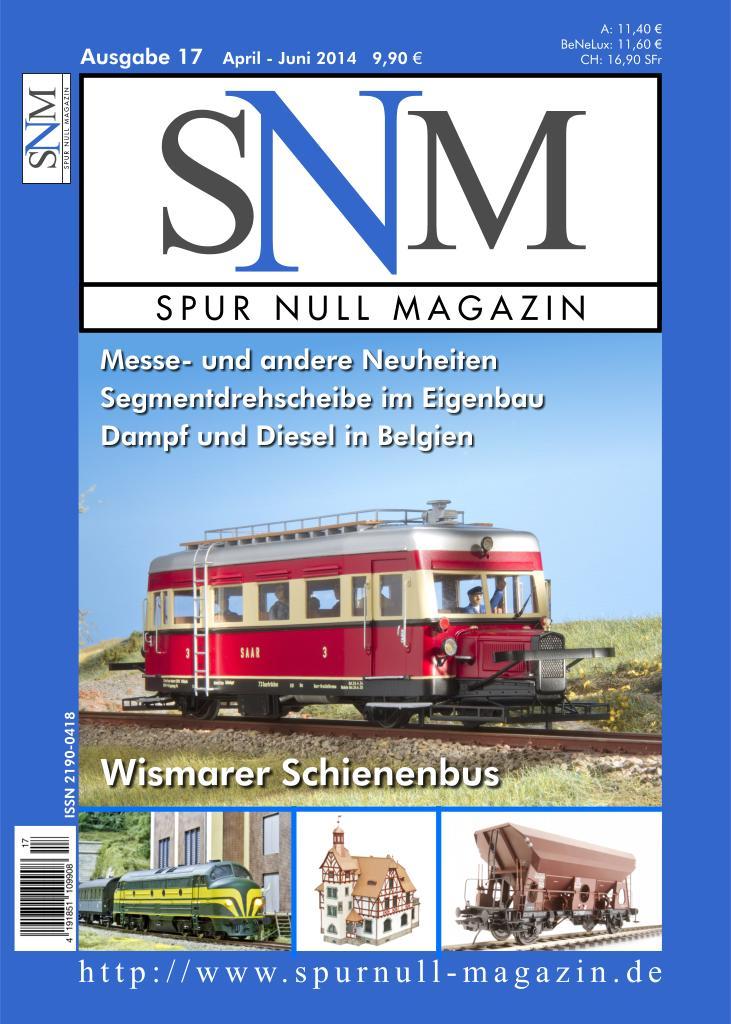 Titelbild Spur Null Magazin Heft 17