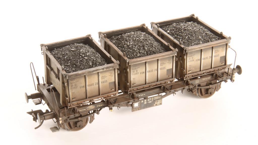 Kohleladung für Haus zu Haus Container