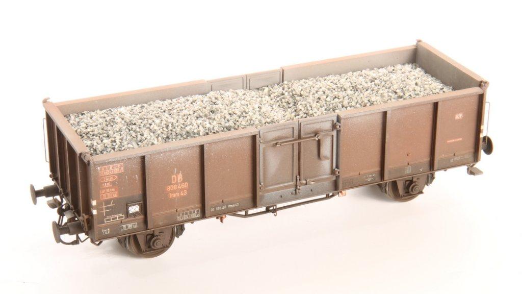 Schotterladung grau für Omm43
