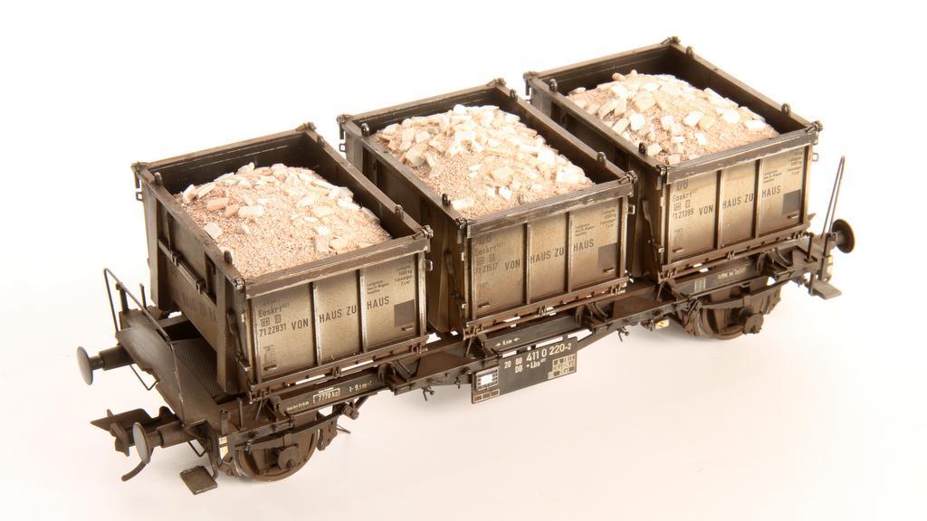 Ziegelladung für Haus zu Haus Container