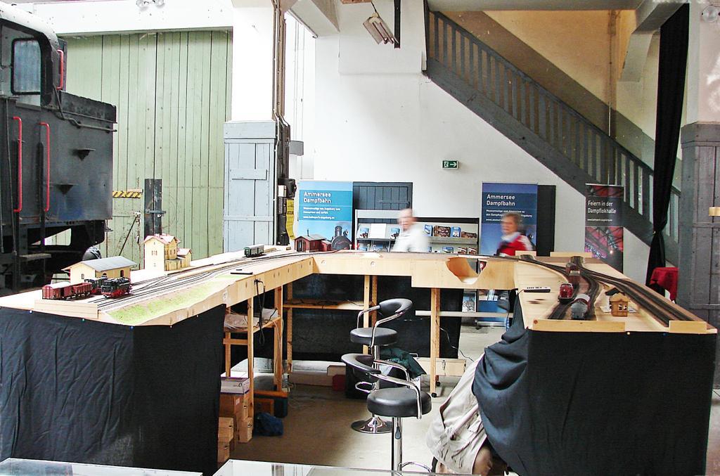Wartet noch auf Fertigstellung: Die vereinseigene Anlage der Arge Spur Null. Foto: Thomas Krüger