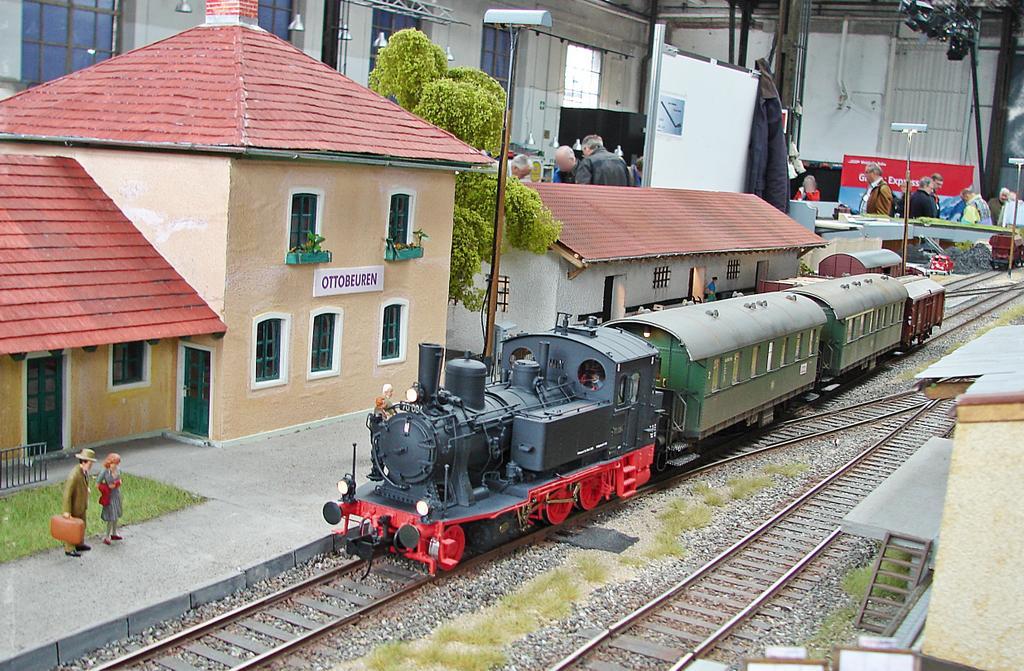Baureihe 70 mit Donnerbüchsen in Ottobeuren. Foto: Thomas Krüger