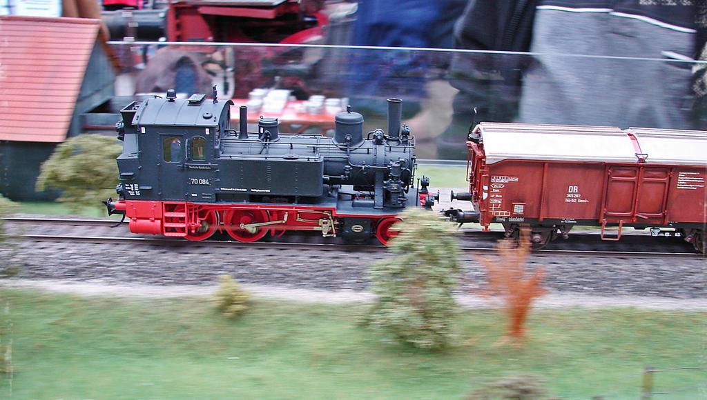 Baureihe 70 mit Güterzug. Foto: Thomas Krüger