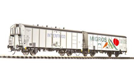 Brawa Kühlwagen UIC Standard 1