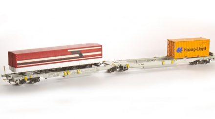 Taschenwagen Sdggmrs von Agder Modell Teknikk