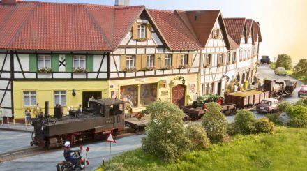 Schmalspuranlage der Modellbahnfreunde Osterholz-Scharmbeck in Heft 18