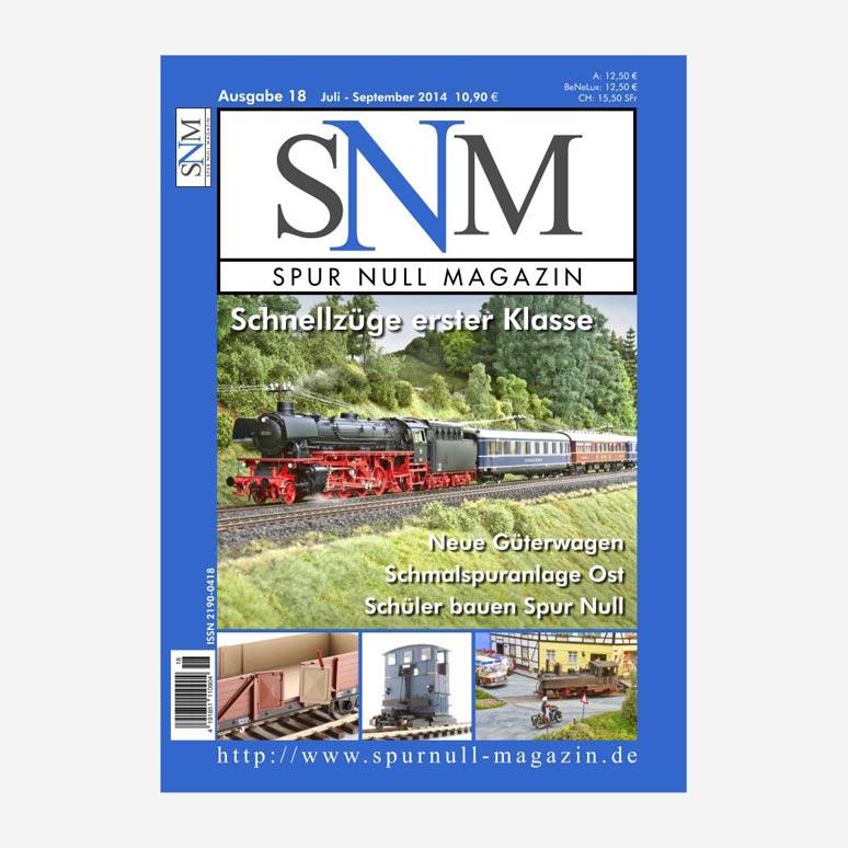 Spur Null Magazin Heft 18