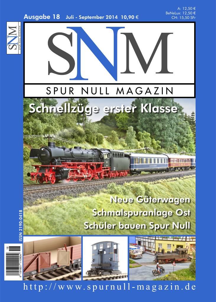 Titelbild Spur Null Magazin Heft 18