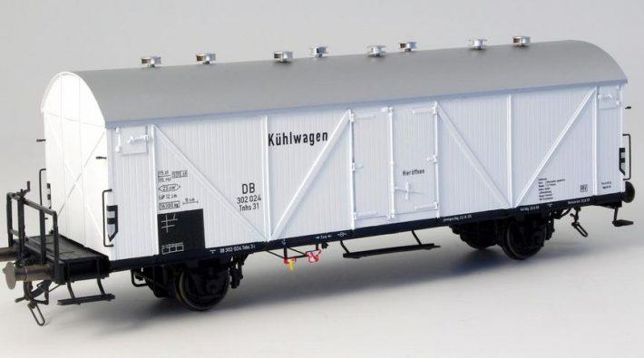 Kühlwagen Tns 31 mit Bremserbühne