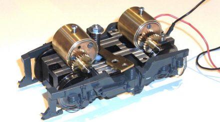 Drehgestell mit 2 Faulhaber Motoren