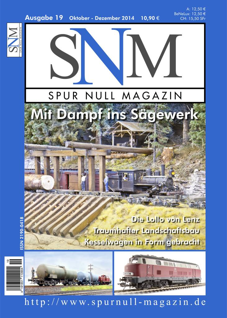 Titelbild Spur Null Magazin Heft 19