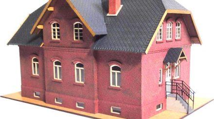 Lasersachen Doppelhaus
