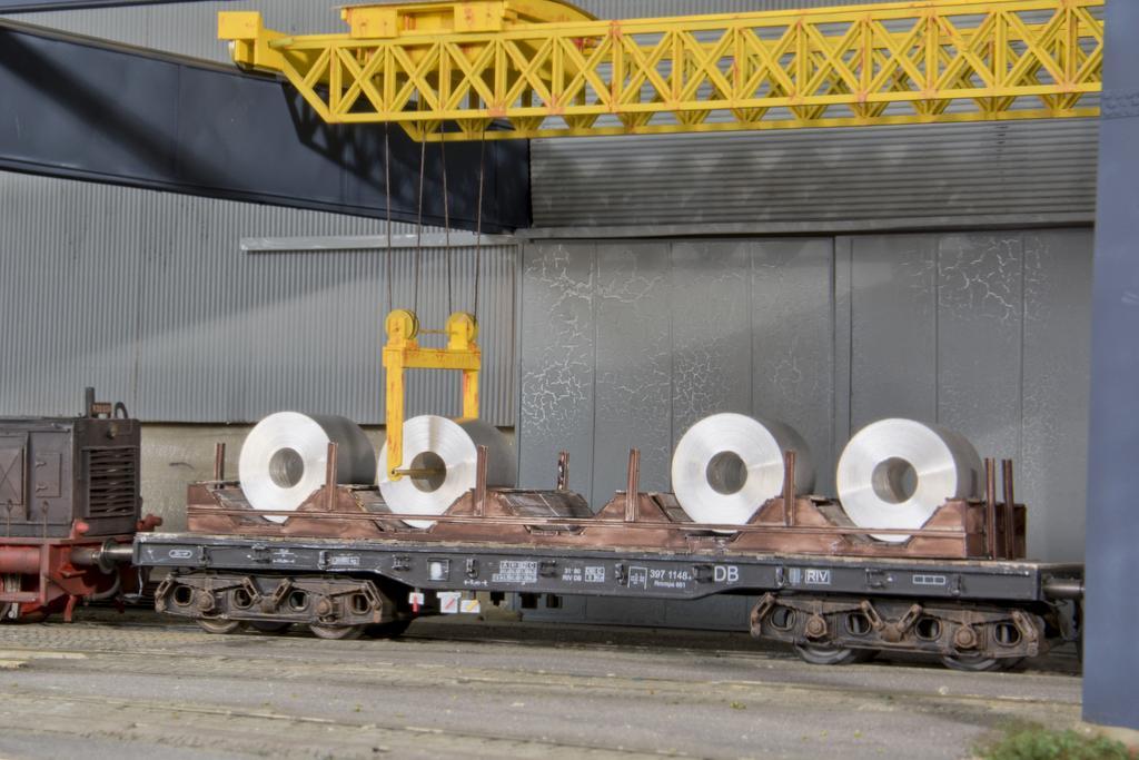 Coiltransportwagen Rmmps 661 im Eigenbau