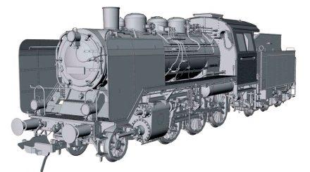Baureihe 24 Konstruktionszeichnung