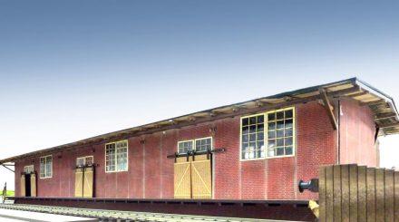 Güterschuppen, gebaut von Tabea Graf