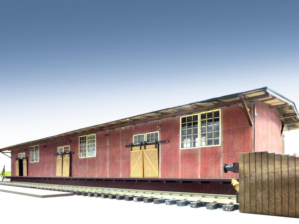 Güterschuppen, gebaut von Tabea Graf. Foto: Helmut Liedtke