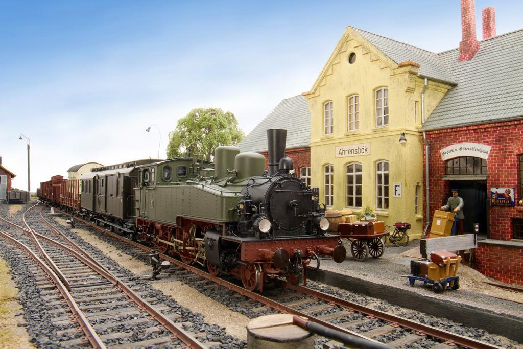 Bahnhof Ahrensbök, das Titelmotiv für Heft 20
