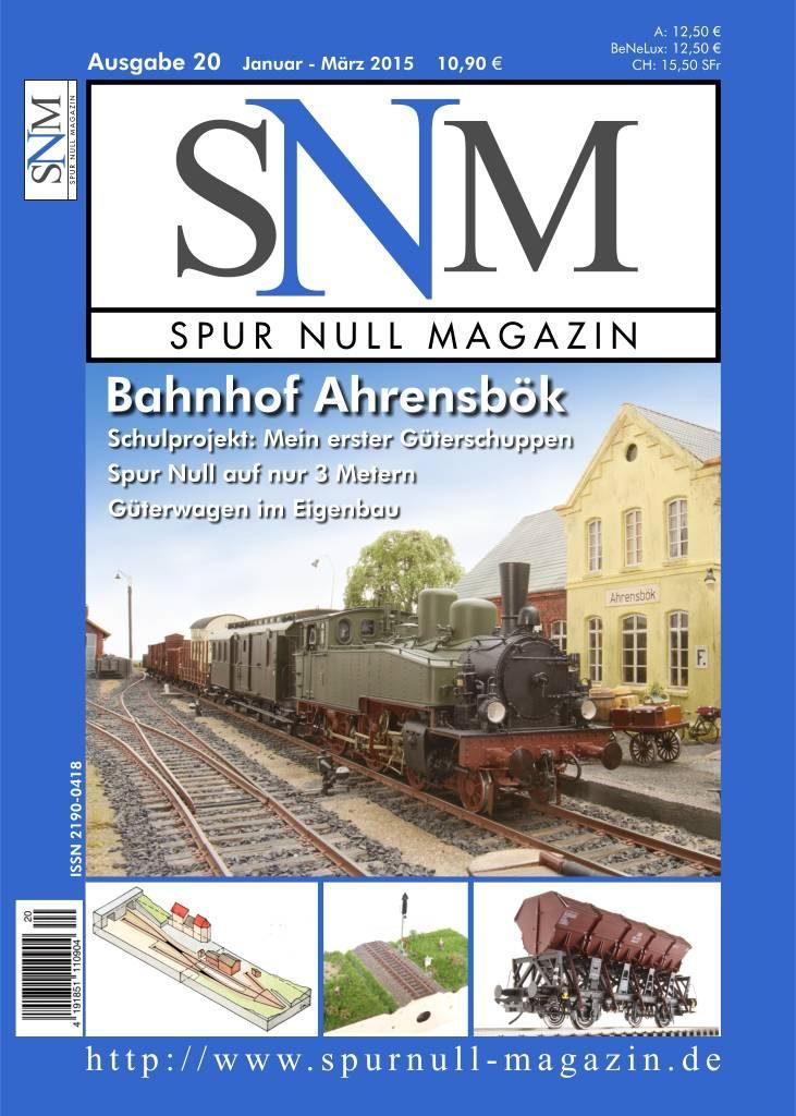 Titelbild Spur Null Magazin Heft 20