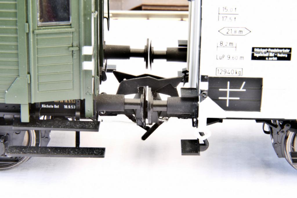 Lenz Kupplung mit Vorentkupplung, Prototyp