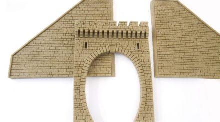 Vollmer Steinkunst: Tunnelportale und Stützmauern